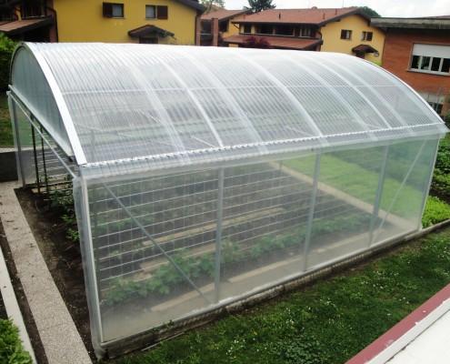 Materiali copertura serre agricole